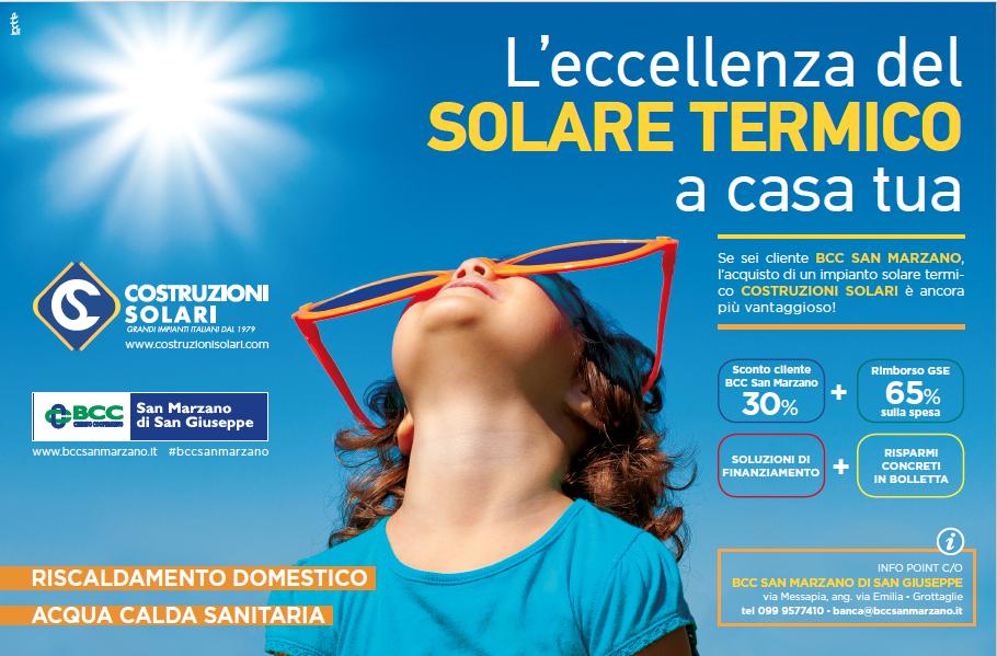 Costruzioni Solari e BCC San Marzano Offerta