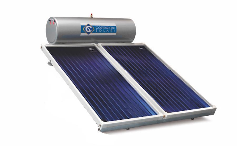 Solare Termico a Milano Circolazione Naturale CNS 300