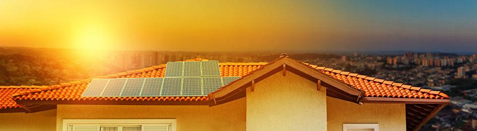 riscaldamento casa con solare termico