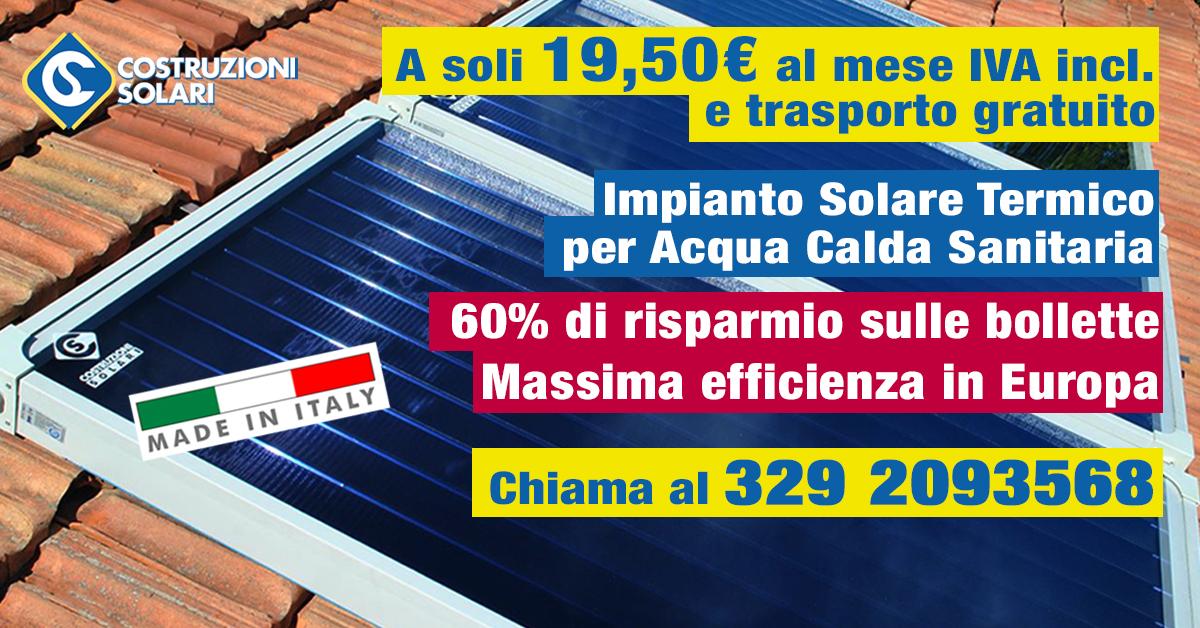 Solare Termico a Milano