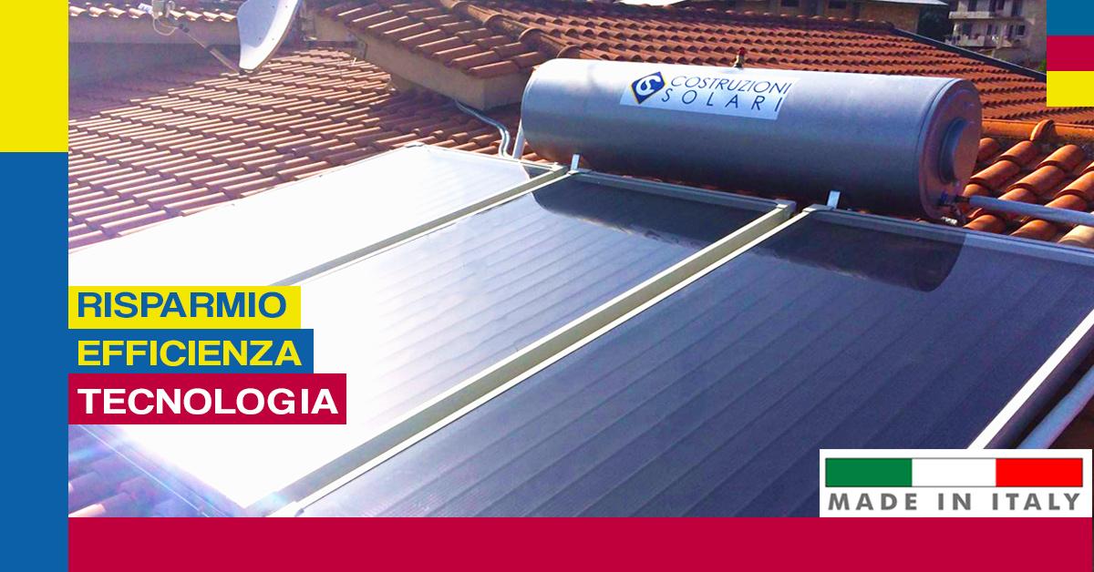 pannelli solari termici di qualità