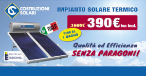 Impianto solar in offerta