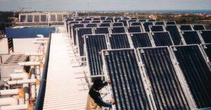 Impianti solari termici per ospedali