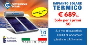 Offerta Impianto solare termico