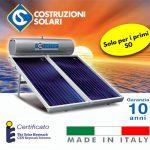 costo solare termico