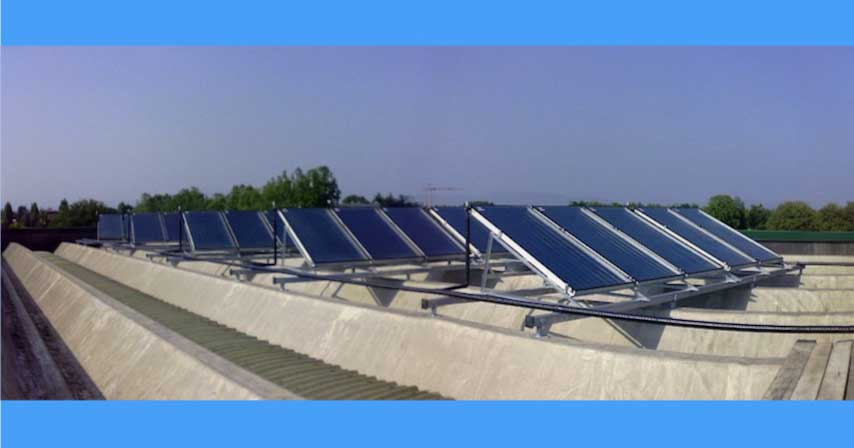 come installare un impianto solare termico